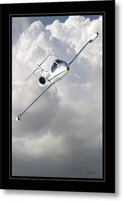Learjet Metal Print by Larry McManus