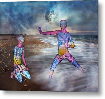 Learning The Way Metal Print by Betsy C Knapp
