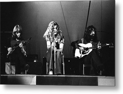 Led Zeppelin 1971 Metal Print by Chris Walter