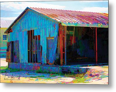 Left To Fly Metal Print by Robin Lewis
