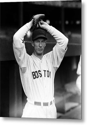 Lefty Grove Looking Forward At Camera Metal Print by Retro Images Archive