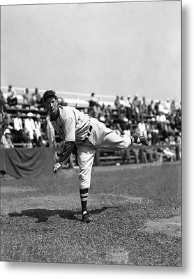 Lefty Grove Working Out Before Game Metal Print by Retro Images Archive