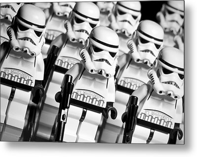 Lego Storm Trooper Army Metal Print by Samuel Whitton
