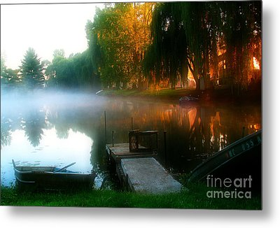 Leidy Lake Campground Metal Print by Douglas Stucky