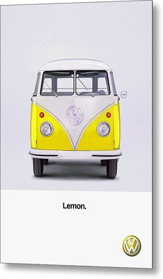 Lemon Metal Print by Mark Rogan