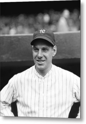 Leo Durocher With The Yankees Metal Print by Retro Images Archive