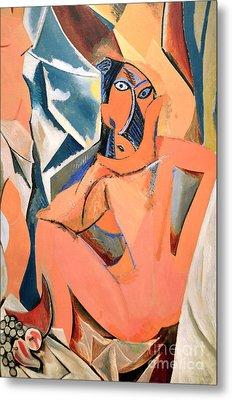 Les Demoiselles D'avignon Picasso Detail Metal Print by RicardMN Photography