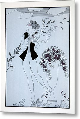 Les Sylphides Metal Print by Georges Barbier