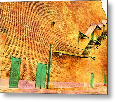 Let Me Out Of Here Metal Print by MJ Olsen