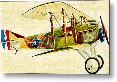 Let's Fly With Me Metal Print by Yury Malkov