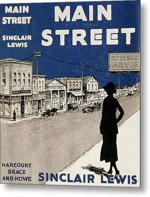 Lewis Main Street, 1920 Metal Print by Granger