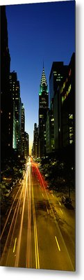 Lexington Avenue, Cityscape, Nyc, New Metal Print by Panoramic Images