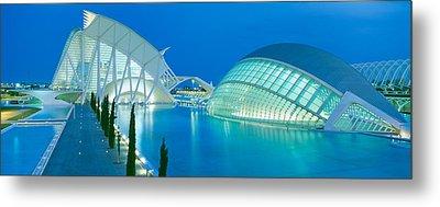 Lhemisferic Planetarium And El Palau De Metal Print by Panoramic Images