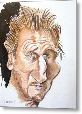 Liam Neeson Metal Print by Chris Benice