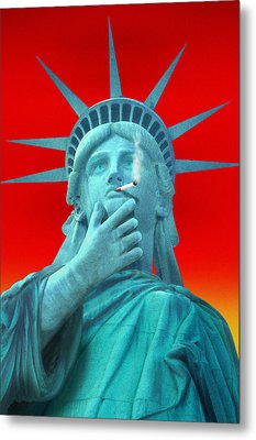 Liberated Lady - Special Metal Print by Mike McGlothlen