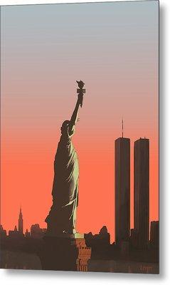 Liberty Metal Print by Mike Linman