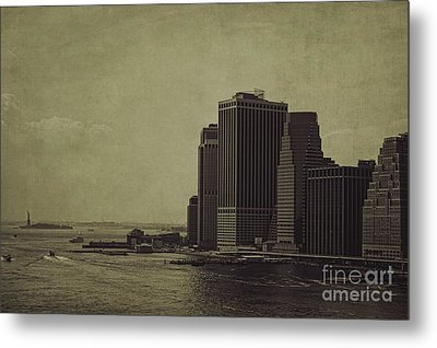Liberty Scale Metal Print by Andrew Paranavitana