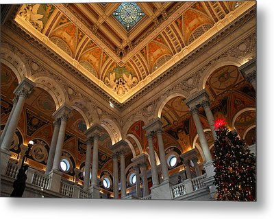 Library Of Congress - Washington Dc - 011314 Metal Print by DC Photographer