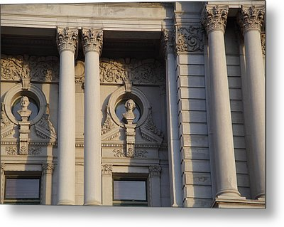 Library Of Congress - Washington Dc - 011326 Metal Print by DC Photographer