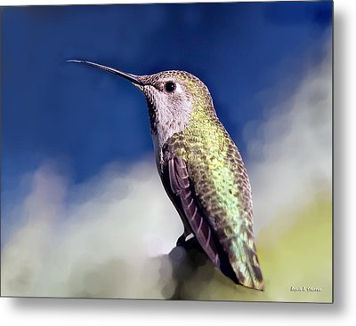 Lick Your Lips Metal Print by Angela A Stanton