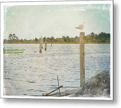 Life Is For Living Metal Print by Robin Dickinson