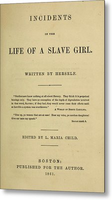 Life Of A Slave Girl, 1861 Metal Print by Granger