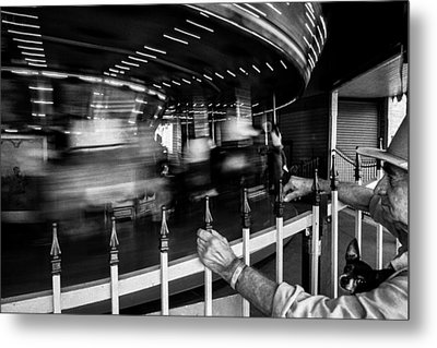 Life Passes By Metal Print by Cecil K Brissette