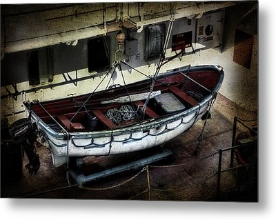 Lifeboat Metal Print by Evie Carrier