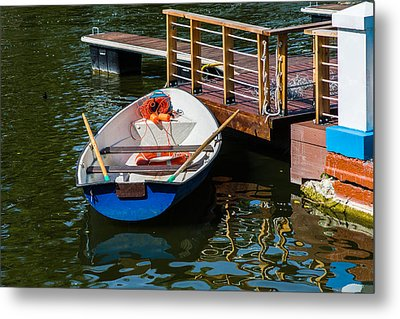 Lifeboat On Duty - Featured 3 Metal Print by Alexander Senin