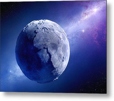 Lifeless Earth Metal Print by Johan Swanepoel