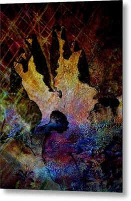 Life's Challenges Metal Print by Shirley Sirois