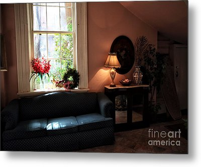 Light By The Window Metal Print by John Rizzuto