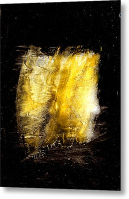 Light Coming Through Metal Print by Kongtrul Jigme Namgyel