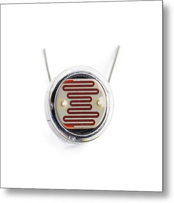 Light Dependent Resistor Metal Print by Science Photo Library