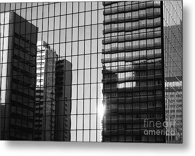 Light Fading In Downtown Tokyo Metal Print by Dean Harte