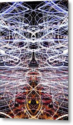 Light Fantastic 38 Metal Print by Natalie Kinnear