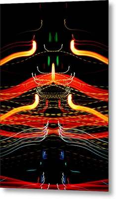 Light Fantastic 39 Metal Print by Natalie Kinnear