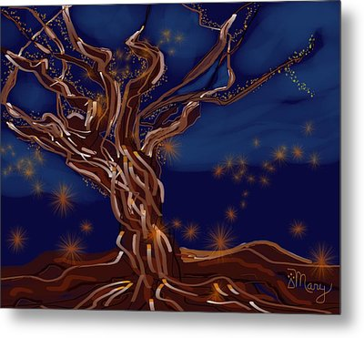 Light Force Metal Print by Mary Gravelle