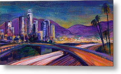 Light Up The Night Metal Print by Athena Mantle