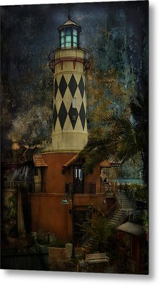 Lighthouse Metal Print by Mario Celzner