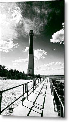 Lighthouse Walk Metal Print by John Rizzuto