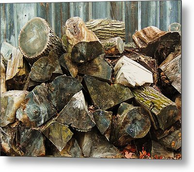 Winter Wood Metal Print by Todd Sherlock