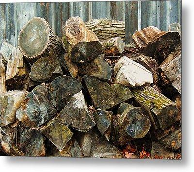 Winter Wood Metal Print by Todd Sherlock
