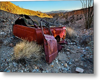 Like A Rock Metal Print by Peter Tellone