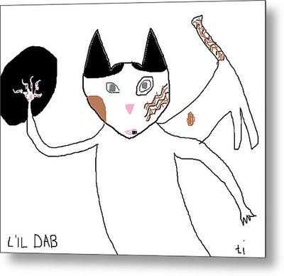 Lil Dab Metal Print by Anita Dale Livaditis