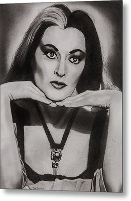 Lily Munster Metal Print by Brian Broadway