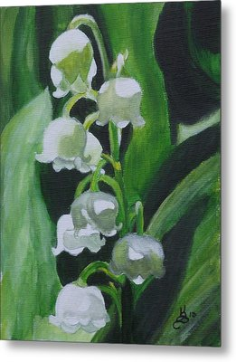 Lily Of The Valley Metal Print by Kim Selig