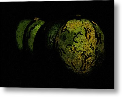 Limes Metal Print by Toppart Sweden