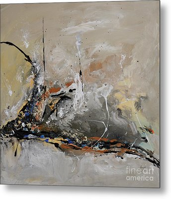 Limitless - Abstract Painting Metal Print by Ismeta Gruenwald
