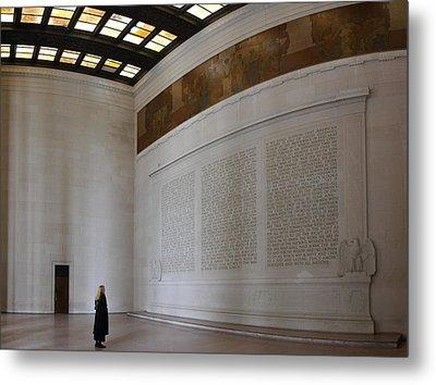 Lincoln Memorial - Washington Dc - 01132 Metal Print by DC Photographer